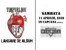 Timișoara: Timpuri Noi - lanseaza un nou album in Capcana
