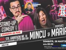 Stand up comedy cu Maria, Mincu și Banciu