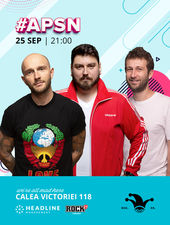 #APSN -The Fool: Stand-up comedy cu Bordea, Micutzu și Radu Isac