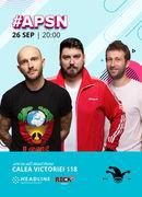 #APSN -  The Fool: Stand-up comedy cu Bordea, Micutzu și Radu Isac