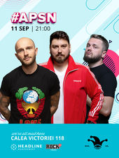 #APSN - The Fool: Stand-up comedy cu Micutzu, Bordea și Cortea