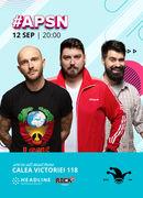 #APSN -  The Fool: Stand-up comedy cu Micutzu, Bordea și Geo