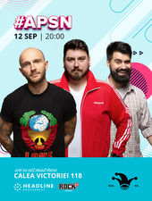 #APSN -  The Fool: Stand-up comedy cu Micutzu, Bordea și Geo
