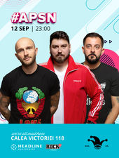 #APSN -  The Fool: Stand-up comedy cu Micutzu, Bordea și Gherghe