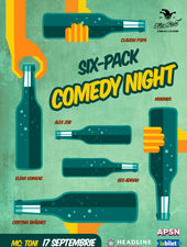 #APSN -  The Fool: Six-Pack comedy night cu Toni