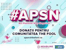 #APSN - Împreună pentru comunitatea The Fool!