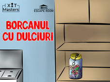 Borcanul cu dulciuri: Home Escape Room Board Games