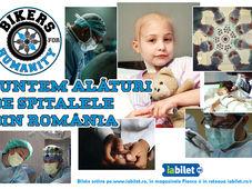 Bikers For Humanity este alături de spitalele din România