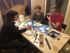 Cursuri Atelier de desen si pictura pentru copii si adulti