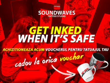 Get inked when it's Safe @ Soundwaves Tattoo Studio