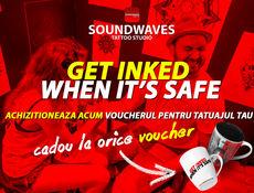 GET INKED when IT'S SAFE @ Soundwaves Tattoo Studio