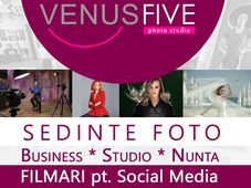 Studio Foto-Video Venus Five - Sedinte Business, Fotograf Evenimente, Filmari Nunta