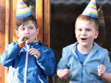 Ziua de nastere a celui mic in cel mai neasteptat cadru - online