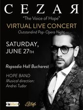 "Cezar Ouatu - ""The Voice of Hope"" - Global Live Concert"