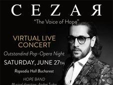 "Cezar Ouatu - ""The Voice of Hope"" - Global Live Concert"