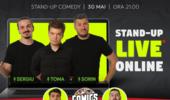 Stand Up Comedy Online Live cu Sorin, Sergiu & Toma (Show 2)