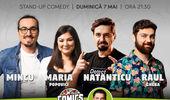 Stand-up cu Maria, Mincu, Natanticu și Raul pe terasă la ComicsClub!