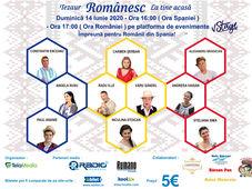 Festival Tezaur Românesc la tine acasa. Impreuna pentru Romanii din Spania.
