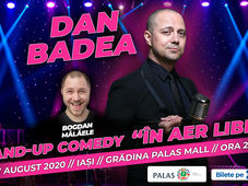 "Iasi: Dan Badea - Stand-up Comedy ""In aer liber"""