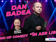 "Turneu Dan Badea - Stand-up Comedy ""In aer liber"""