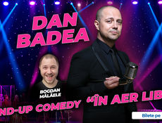 "Turneu Dan Badea - Stand-up Comedy ""In aer liber"""