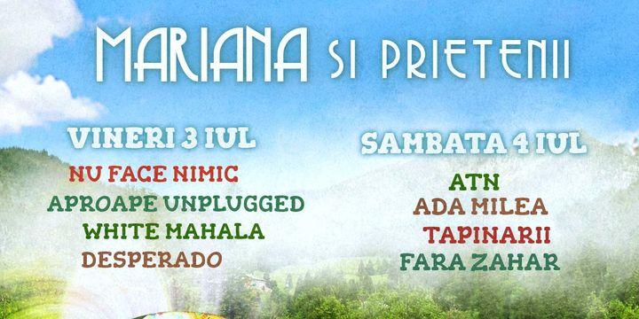 Mariana si prietenii - Weekend muzical de pomină la Brezoi