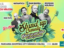 Ramnicu Valcea: Stand Up Comedy cu Dan Badea, Natanticu & Bogdan Mălăele