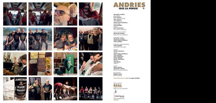 """Alexandru Andries relanseaza vinilul """"Andries iese la pensie""""!"""