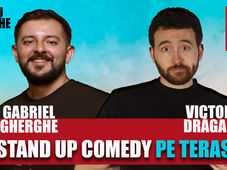 Stand Up Comedy la Terasa cu Gabriel Gherghe si Victor Dragan