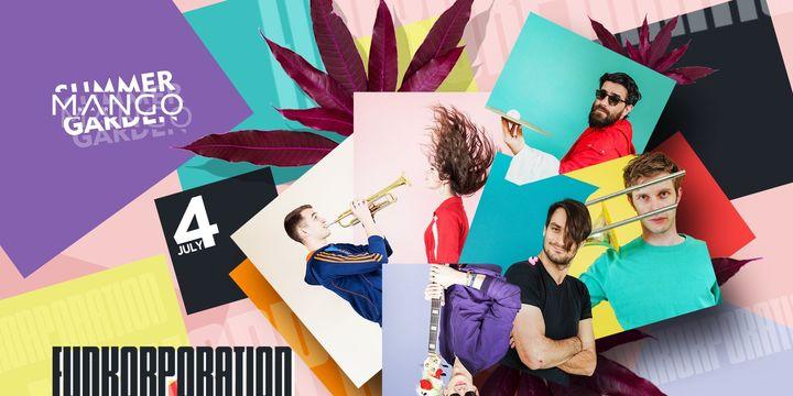 Sibiu: Concert Funkorporation pe terasa Mango bar