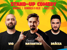 Stand Up Comedy cu Vio, Natanticu & Drăcea la Shut Up, Beach!