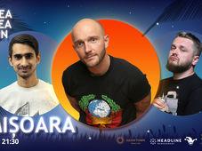 Timisoara: Stand-up Comedy cu Bordea, Cortea si Florin