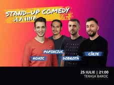 Slatina:  Stand-up Comedy cu Dobrotă, Nonic, Mirel Popinciuc și Cîrje