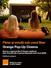 Evenimente Orange Pop-Up Cinema
