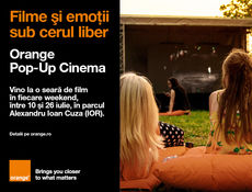 Evenimente Orange Pop-Up Cinema