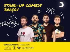 Brasov: Stand-up Comedy cu Isac, Gherghe, Cîrje și Vacariu
