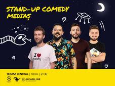 Medias: Stand-up Comedy cu Isac, Gherghe, Cîrje și Vacariu