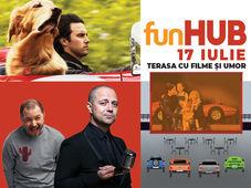 funHUB - Film: The Art of Racing in the Rain / Stand up: Dan Badea și Bogdan Mălăele