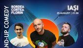Iasi: Stand-up Comedy cu Bordea, Cortea si Florin