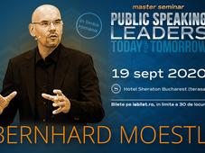 Bernhard Moestl - Public Speaking for Leaders