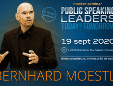 Bernhard Moestl - Public Speaking for Leaders