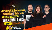 Stand up comedy by Club 99 cu Andrei Ciobanu, Maria Popovici, Mincu in deschidere Banciu