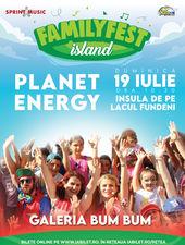 """""""Planet Energy"""" Galeria Bum Bum @ #FAMILYFEST Island"""