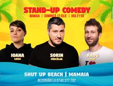 Stand Up Comedy in Mamaia cu Sorin, Radu Isac & Ioana Luiza