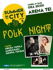 Summer in the City - Folk Night