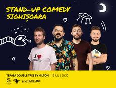 Sighisoara: Stand-up Comedy cu Isac, Gherghe, Cîrje si Vacariu