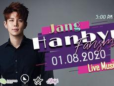 HANBYUL 1st Online Fansmeet Mini-Concert - (sing and asnwer question)