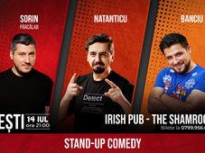 Ploiești: Stand Up Comedy cu Sorin, Natanticu & Banciu @ Shamrock