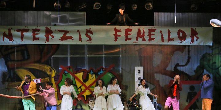 "Teatrul Municipal ""Lucia Sturdza Bulandra"": Zadarnicele chinuri ale dragostei"