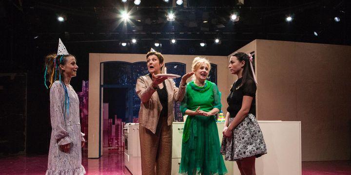 "Teatrul Municipal ""Lucia Sturdza Bulandra"": Treapta a noua"